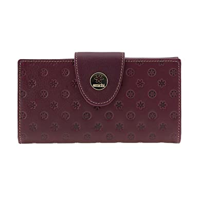 Billetero piel Vuitton de Amichi Talla: U Color: BURDEOS: Amazon.es: Ropa y accesorios