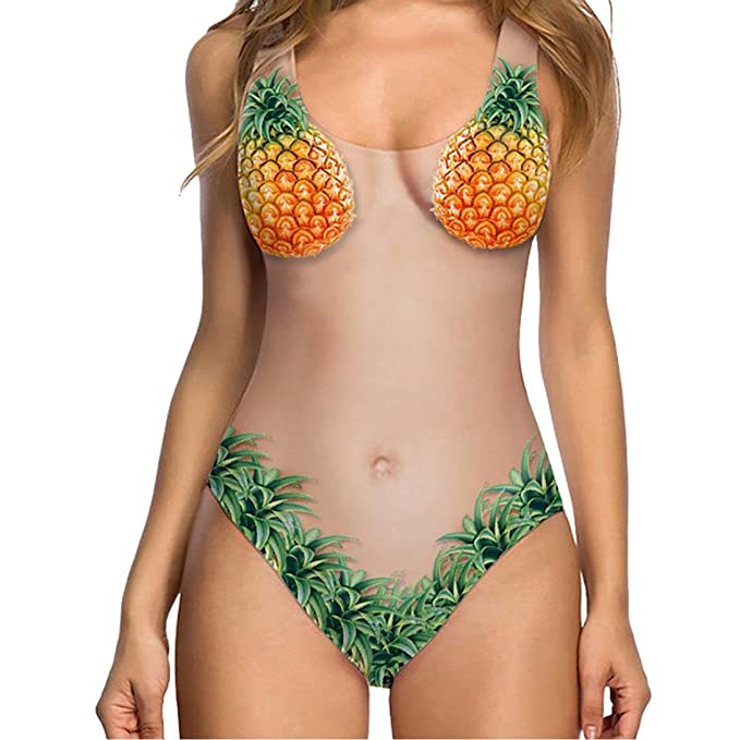 Amazon.com: arinla 2018 verano hembra vestido Sexy bañadores ...