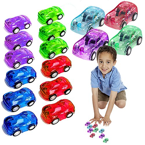Toy Cubby Mini Pull Back and Go Fast Racing Car. 24 - Favor Party Pinata Mini
