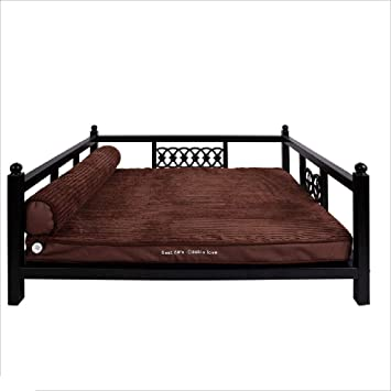Mom Pet Supplies Kennels Puppy Iron Bed Large Dog Bed