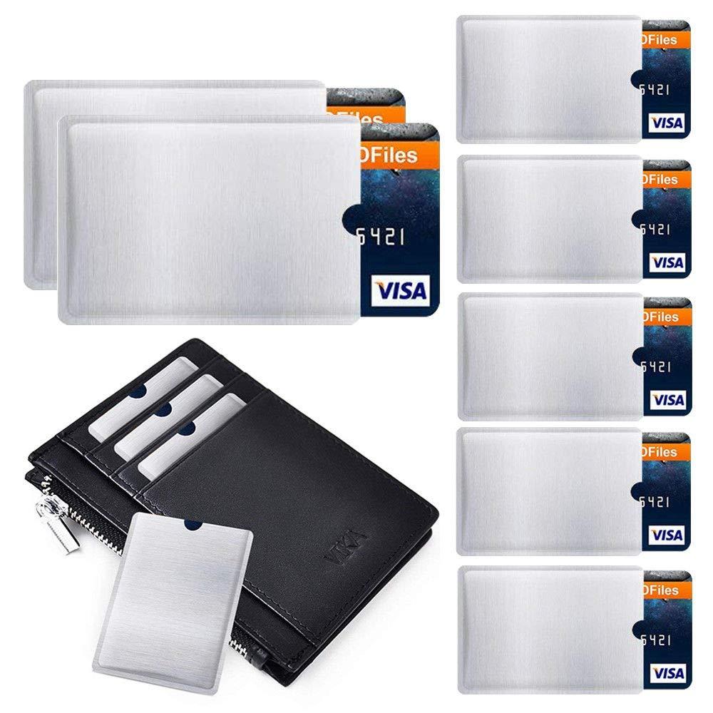 c8b66df5b664 Amazon.com : Plus Mi Life 4-20 RFID Wallet Credit Card Protector ...