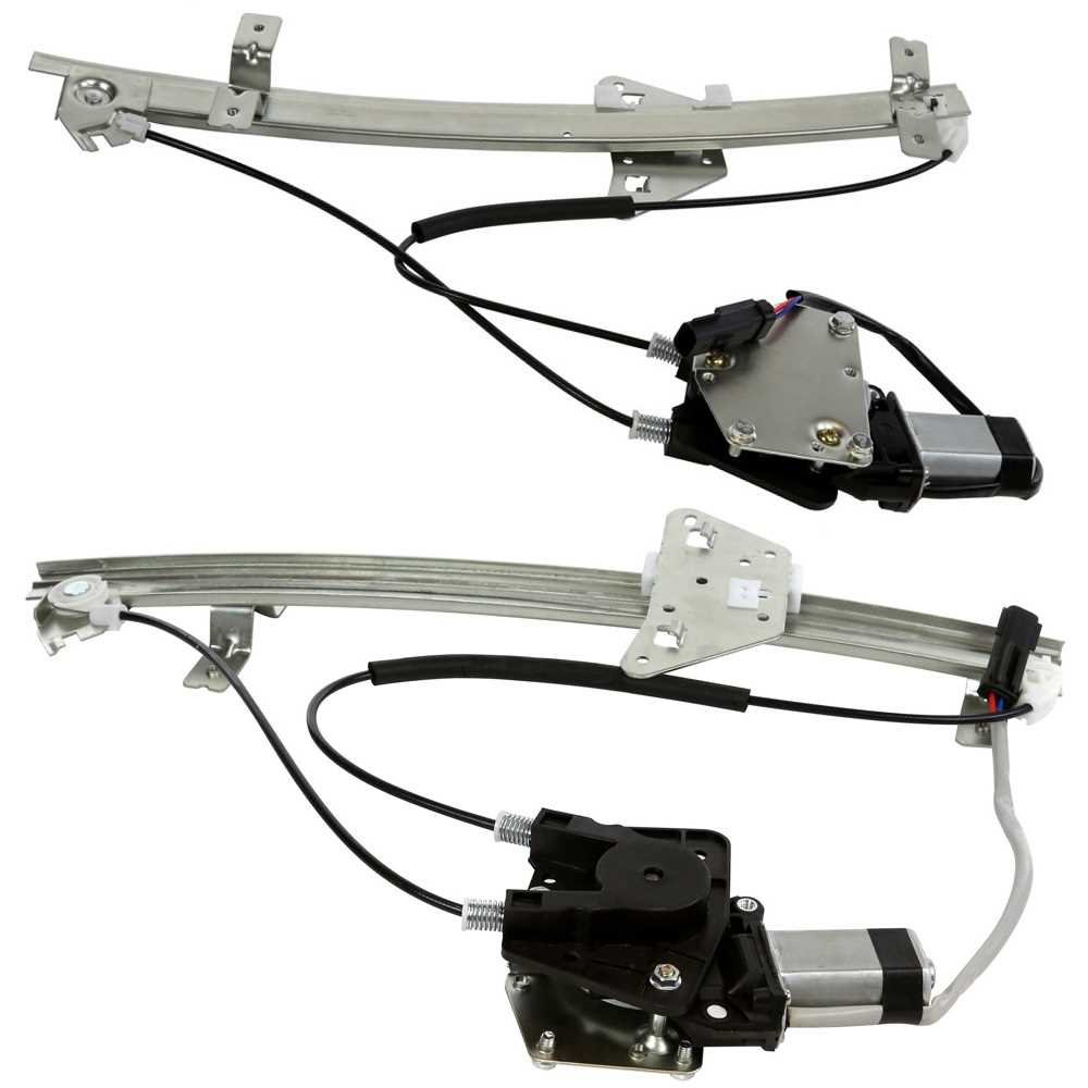 Prime Choice Auto Parts WR841651PR Front Window Regulator Pair
