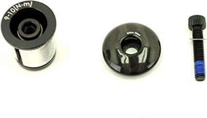 """GWH Industries 1-1//8/"""" Headset Expansion Plug /& Top Cap Red"""
