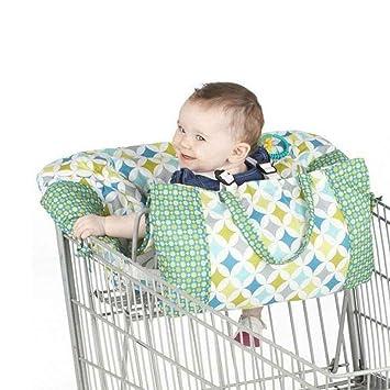 Baby Einkaufswagenschutz Abdeckung Universal Baby Sicherheit Trolley Kleinkind Hochstuhl und Warenkorb Kissen