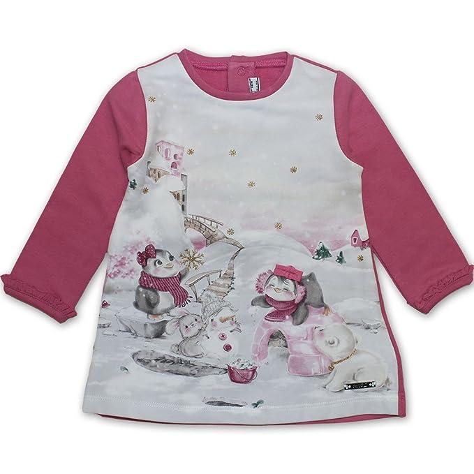 Mayoral - Vestido - trapecio - para niña Rosa 68-6 EU