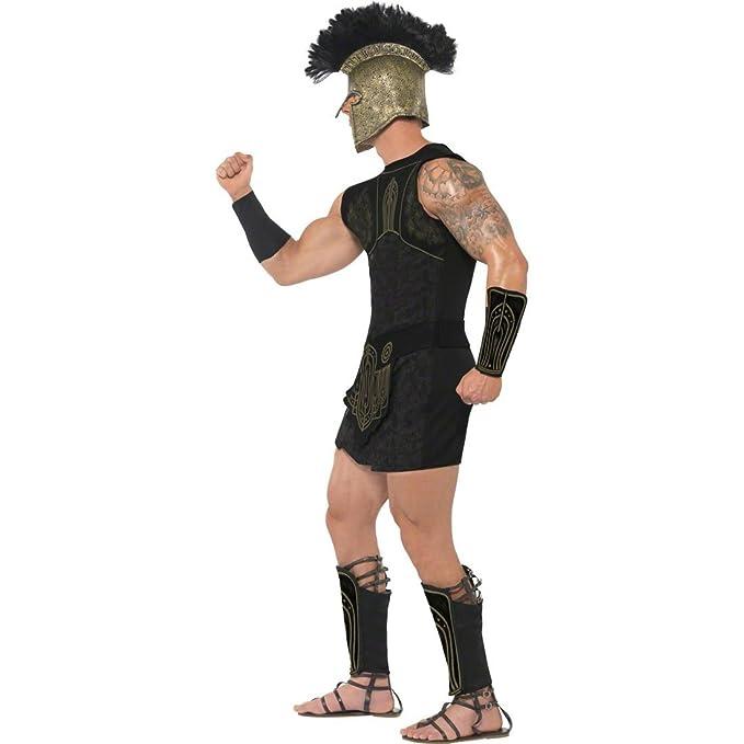 Disfraz de guerrero Aquiles traje romano: Amazon.es ...