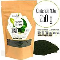 Espirulina Orgánica en polvo (250 gramos)