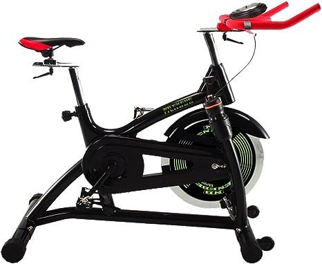 Enebe - Bicicleta de Spinning Enebe Europa Negro: Amazon.es: Deportes y aire libre
