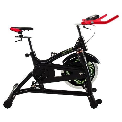 Enebe - Bicicleta de Spinning Enebe Europa Negro: Amazon.es ...