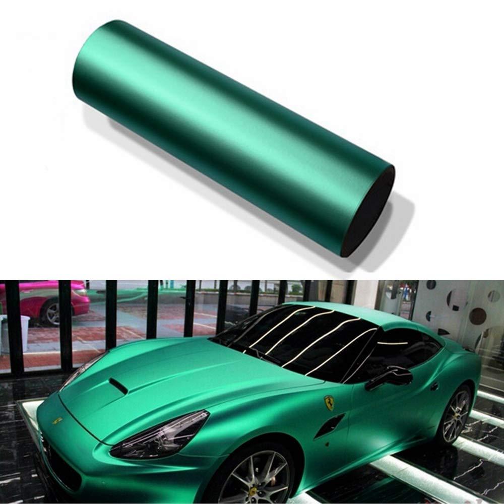 3ft x 5ft VViViD Green Glow in The Dark Vinyl Wrap Luminous Adhesive Film Air Release DIY Decal Sheet