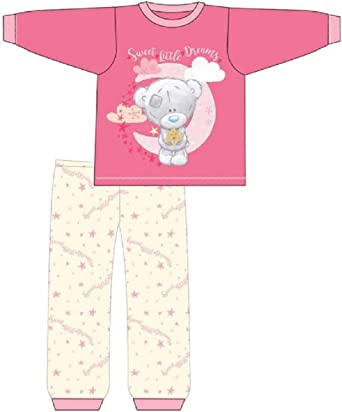 12-18 New Baby Girls Disney Minnie Mouse Character Pyjamas Set 6-9 9-12 18-24 Months