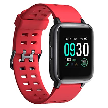 Smart Watch 2019 Version Swimming Waterproof IP68,Willful Fitness Tracker Watch with Heart Rate Monitor Sleep Tracker,Smartwatch Compatible with ...