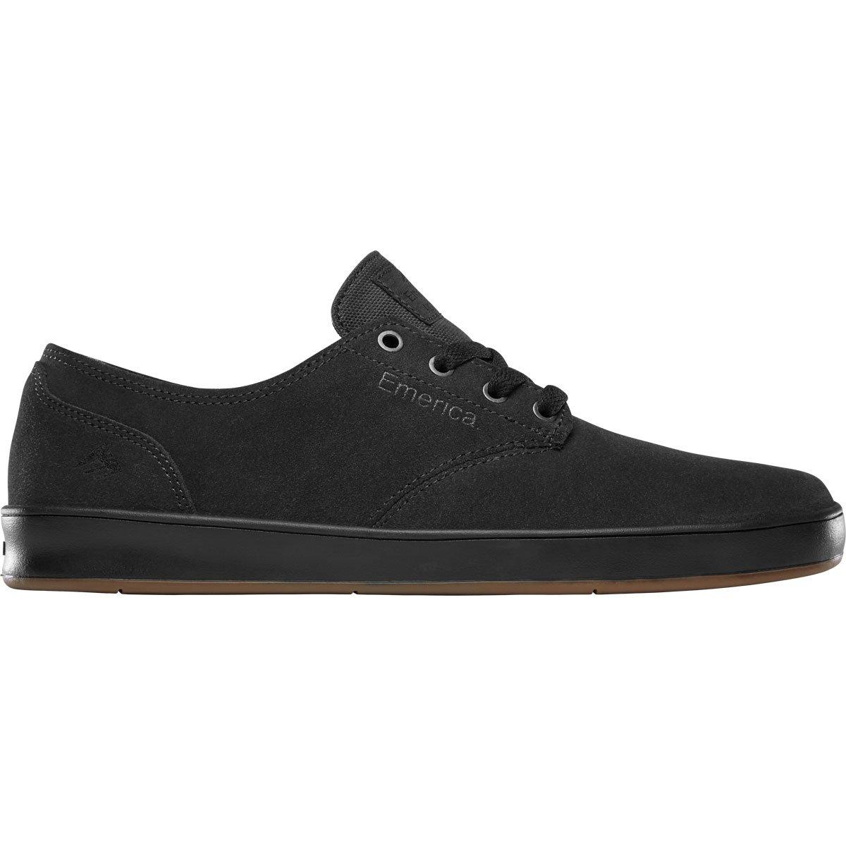 Emerica Men\'s The Romero Laced Skate Shoe Dark Grey/Black/Gum