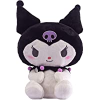 Portonss 33cm Cute Plush Toys for Kids Soft Stuffed Sanr-io Kuromii Doll Anime Toys Action Figure Suede Pillow Toy…