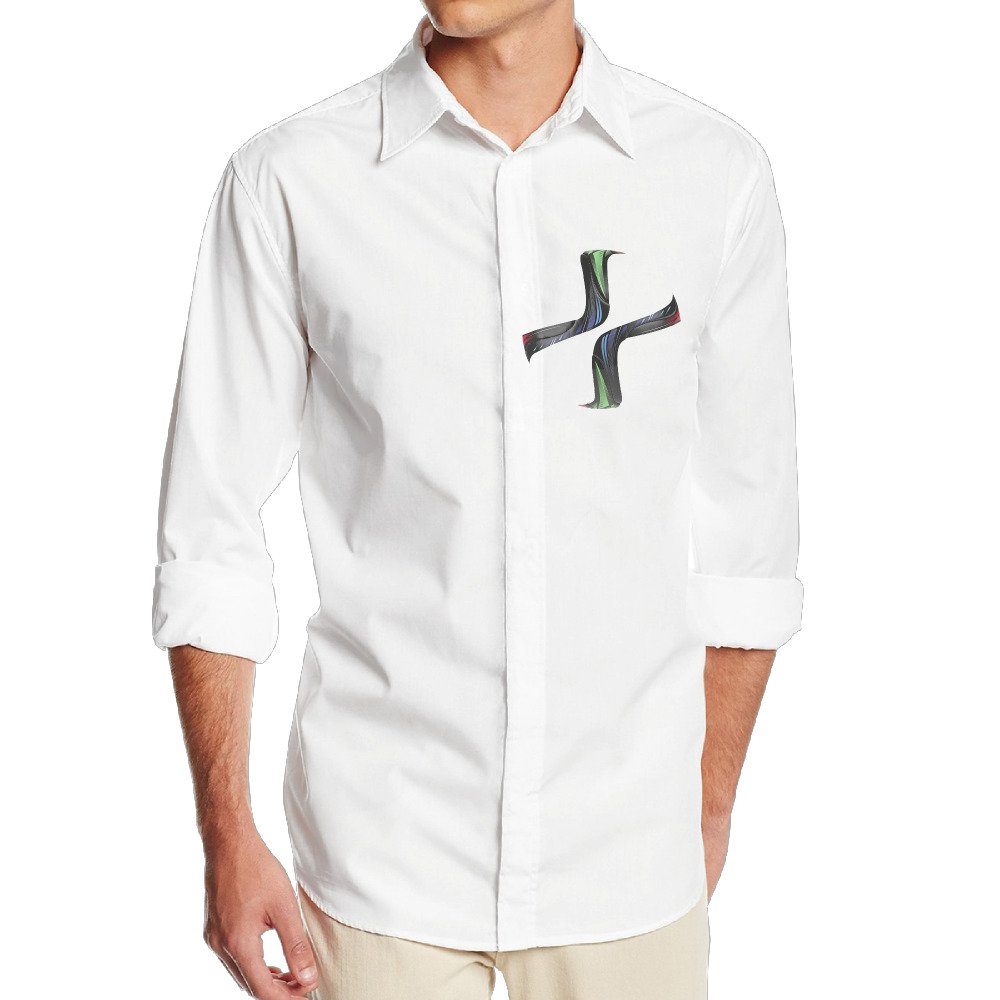 Womens World Cup VINCEIE Mens Cool Long Sleeve Dress Shirt White