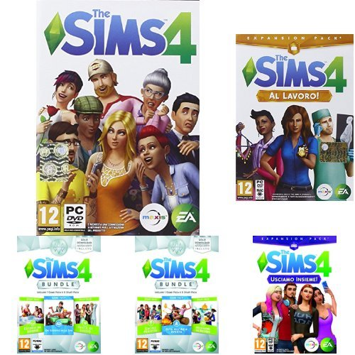 the sims 4 con tutte le espansioni