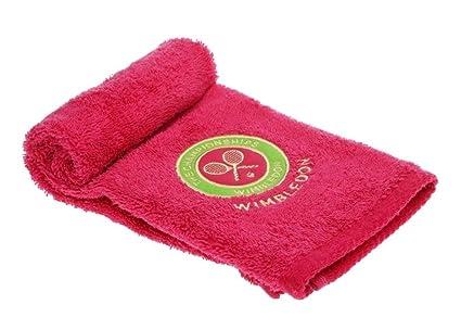 Christy Wimbledon algodón toalla de mano), color rosa