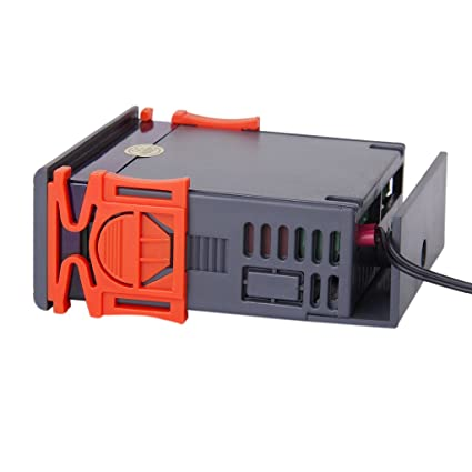 12v LED Digital Pantalla Del Termostato Regulador De Temperatura W ...