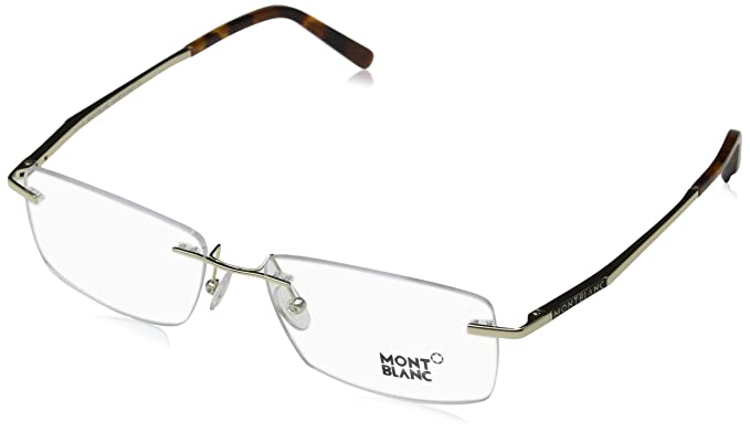 70acd67cdfe Image Unavailable. Image not available for. Color  Mont Blanc MB0670 Eyeglass  Frames ...
