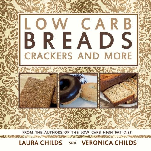 Carb Breads Crackers Ketogenic Cookbooks product image