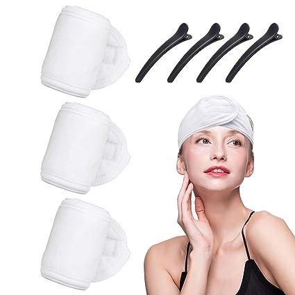 prix le moins cher mode de premier ordre prix incroyables Lot de 3 bandeaux de spa, bandeau de spa, serviette de ...