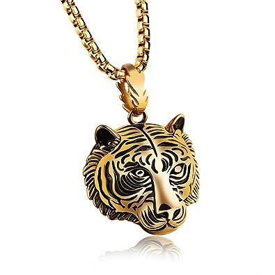 tiger halskette