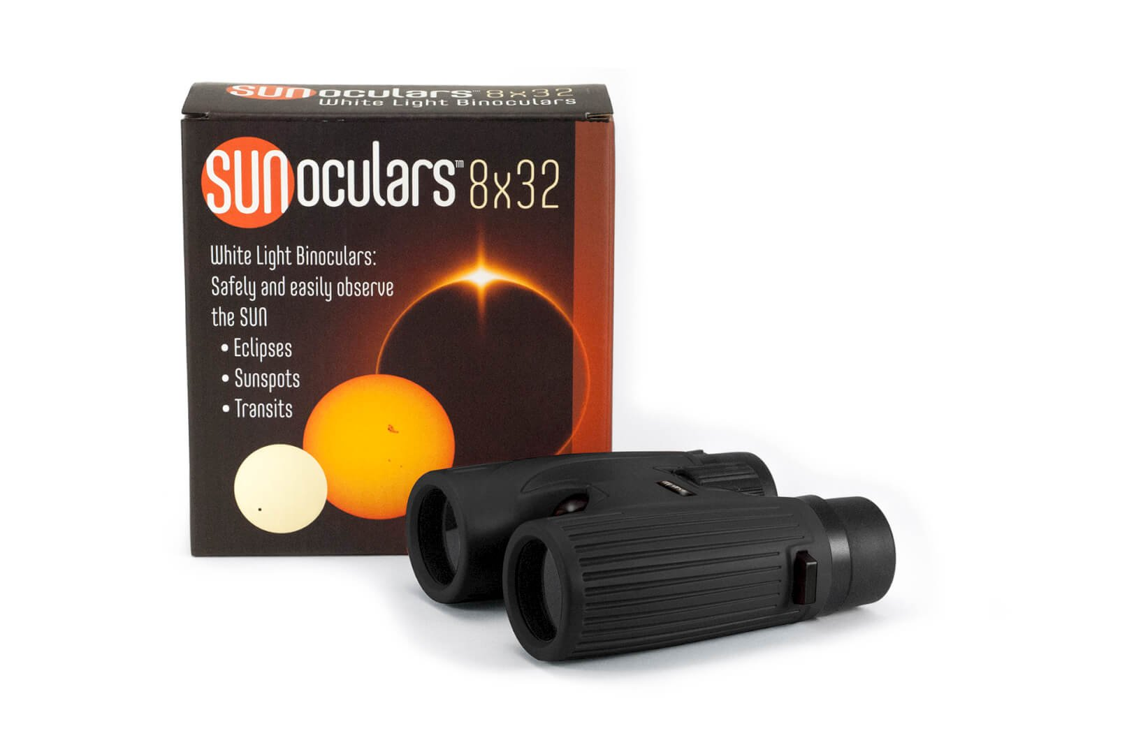 Sunoculars-Black 8×32 by Lunt Solar Systems