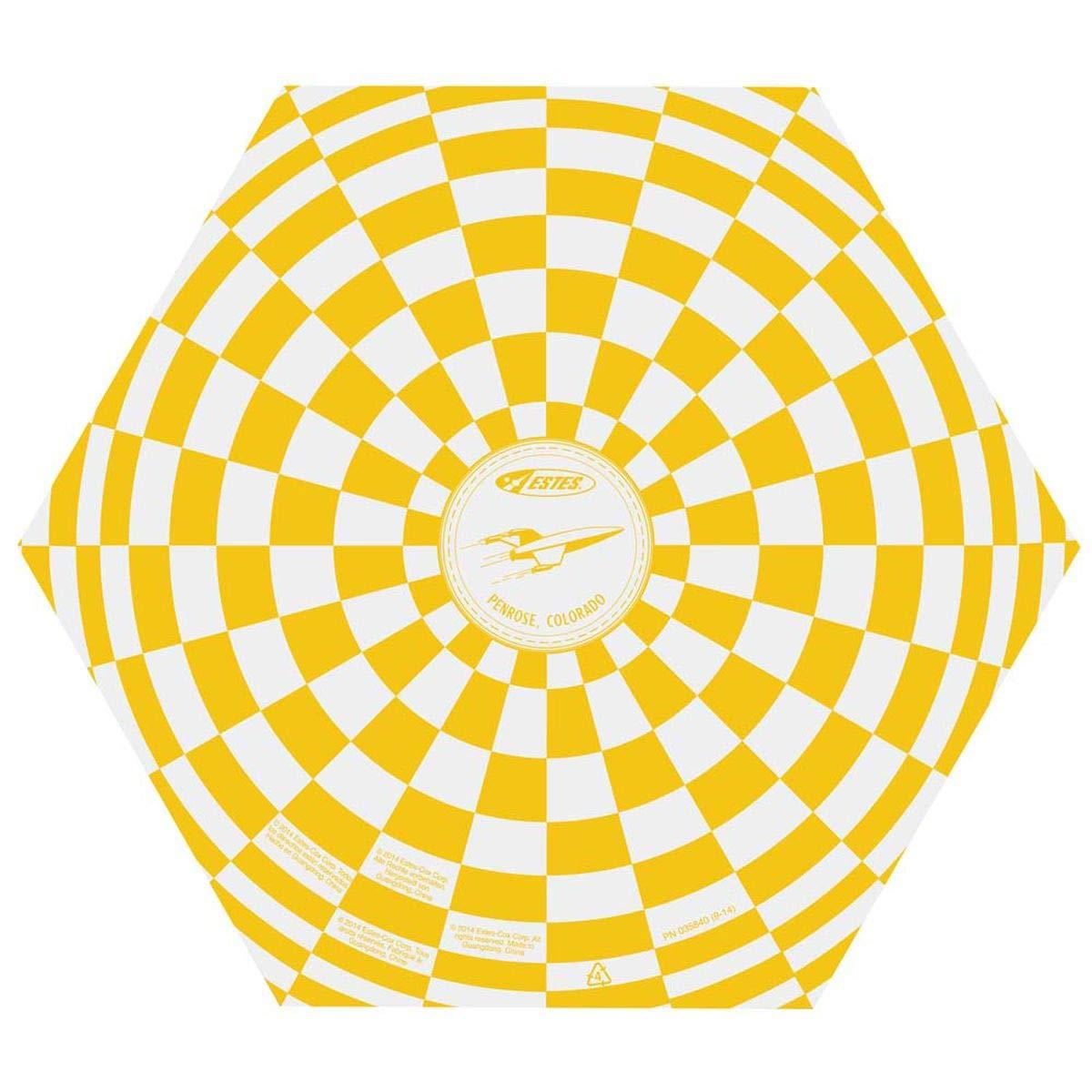 Estes 2268 9-Inch Printed Parachute