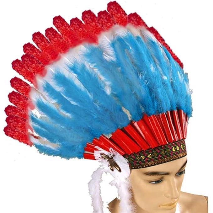 Indian Chief Headdress  sc 1 st  Amazon.com & Amazon.com: Indian Chief Headdress: Clothing