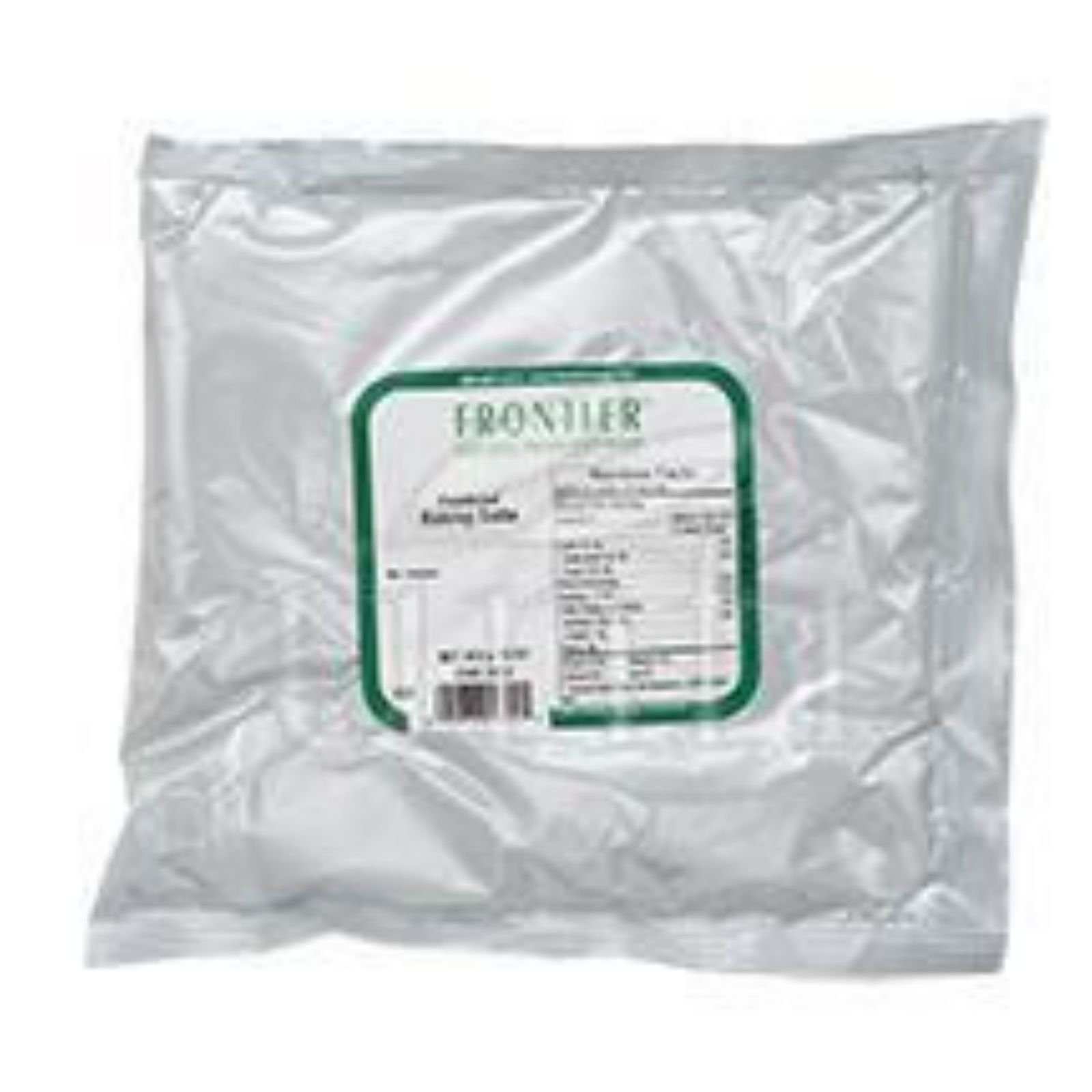 Frontier Herb Baking Soda Powder - Bulk - 1 lb - Highest quality - USP grade No. 1 -