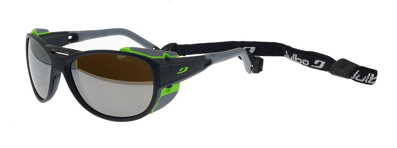 40291f8bbf Julbo Explorer 2.0 Matt Grey Sunglasses Spectron 4 Silver Mirror Lens Cat. 4