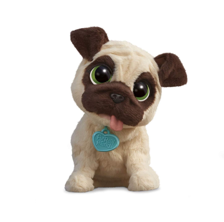 FurReal Friends - Peluche J.J. mi perrito saltarín (Hasbro B0449EU4) con Duracell Ultra Power - Pack DE 12 Pilas alcalinas AA: Amazon.es: Juguetes y juegos