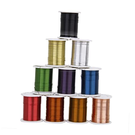 10Pcs Sliver Copper Wire Cord For Jewelry Beaded Barcelets Craft DIY 0.3mm