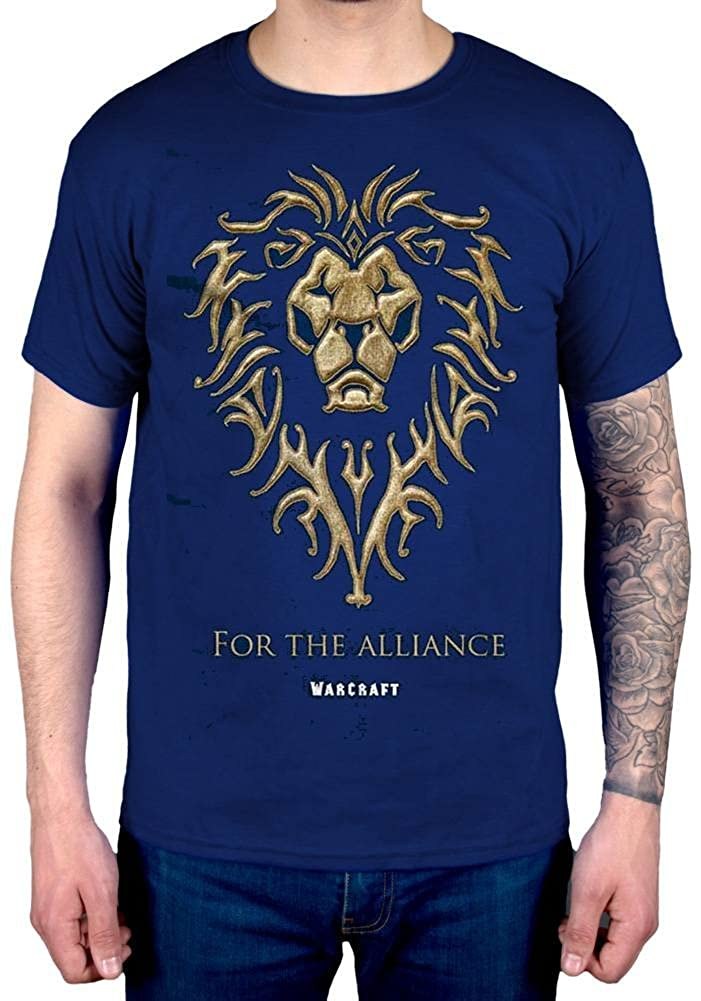 AWDIP Official World of Warcraft The Alliance T-Shirt