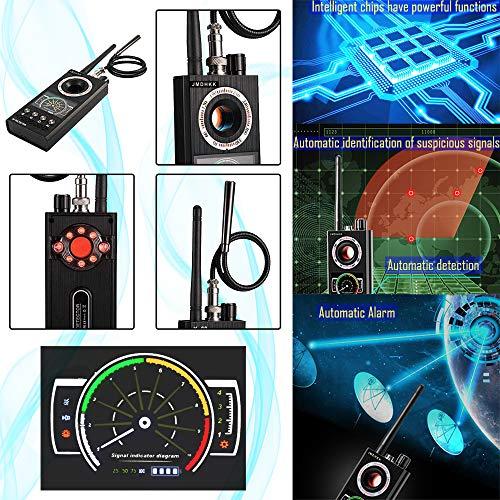 Anti Spy RF Signal Detector Bug Detector Wireless Camera Finder Scanner GPS Tracker Detector Eavesdropping Device Hunter