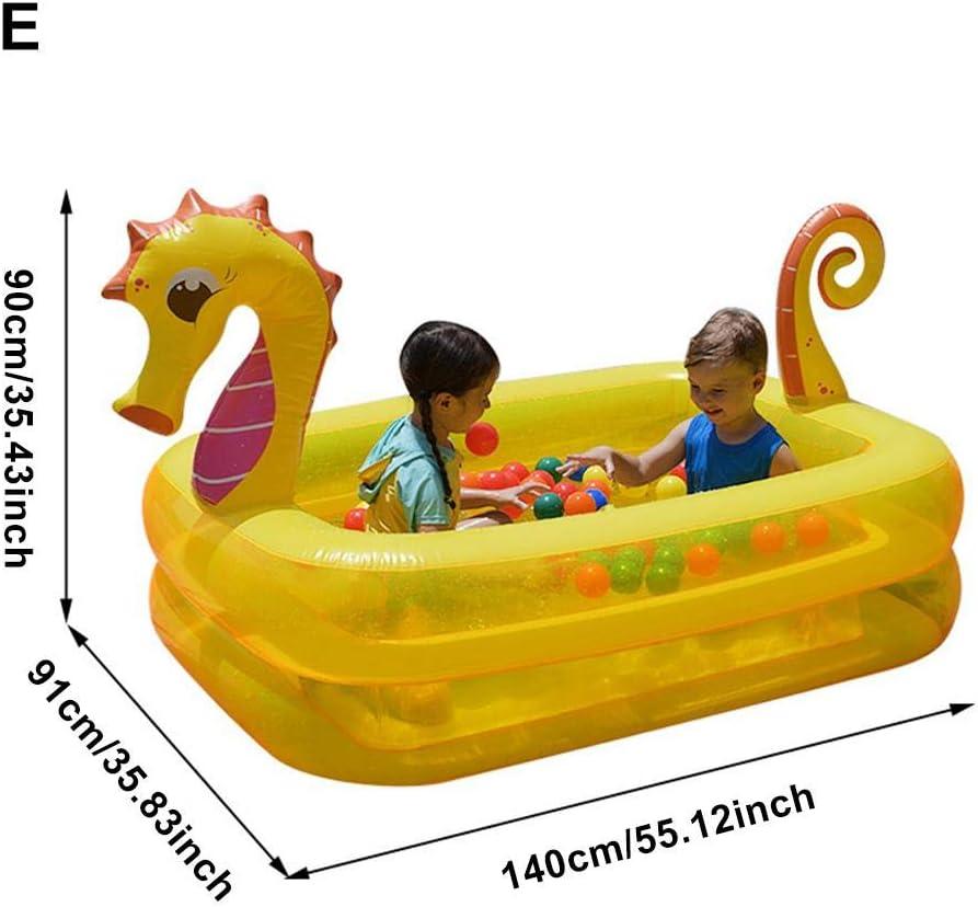 Piscina hinchable para niños, acolchada, gruesa, de Cedarfiny.: Amazon.es: Hogar