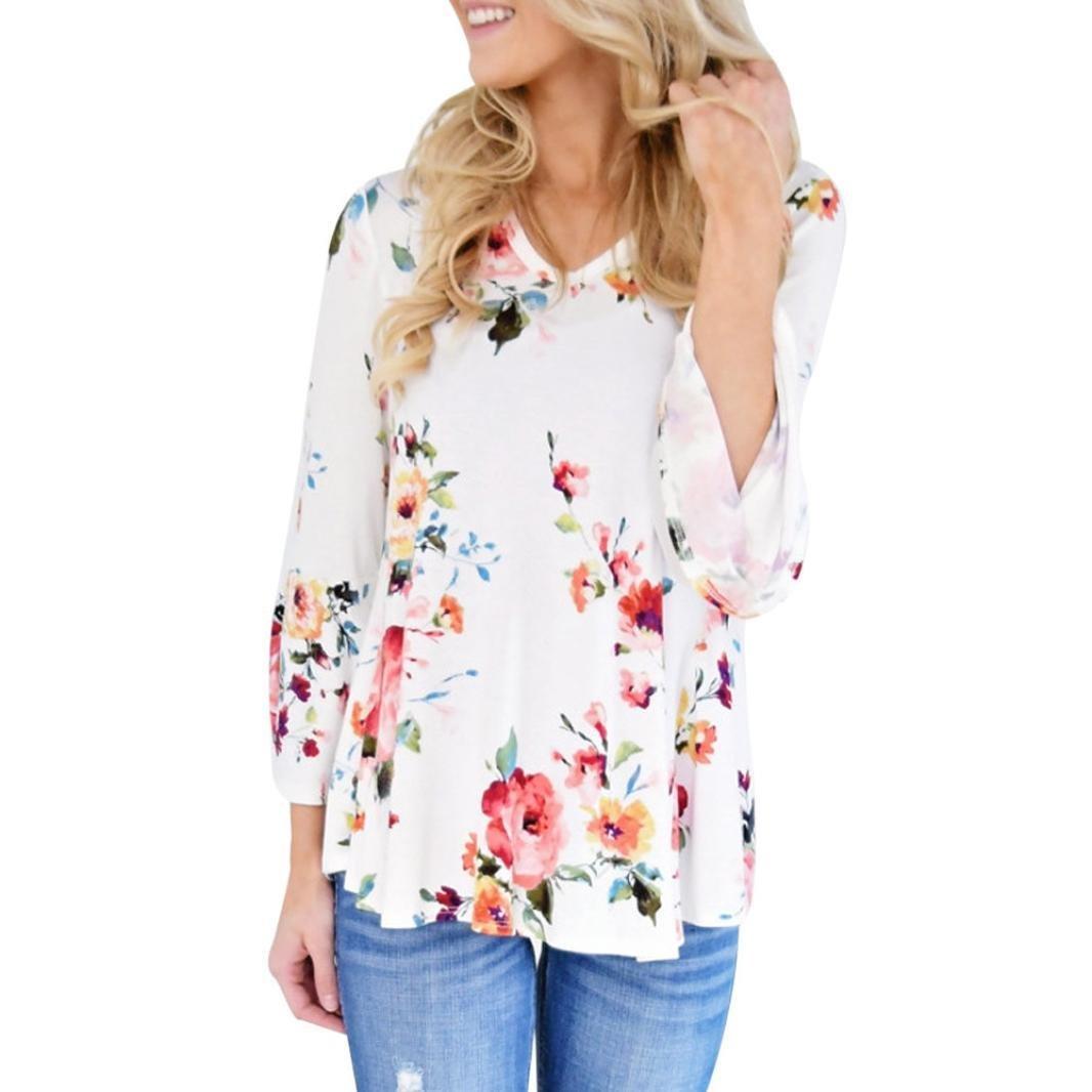 ... Ba Zha Hei Camisetas Mujer Tallas Grandes Camisetas Mujer Manga Corta Blouse For Women Camisetas Mujer Verano Blusa Mujer ropa: Amazon.es: Belleza