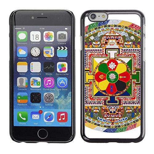 "Premio Sottile Slim Cassa Custodia Case Cover Shell // V00001718 mandala tibetain // Apple iPhone 6 6S 6G 4.7"""
