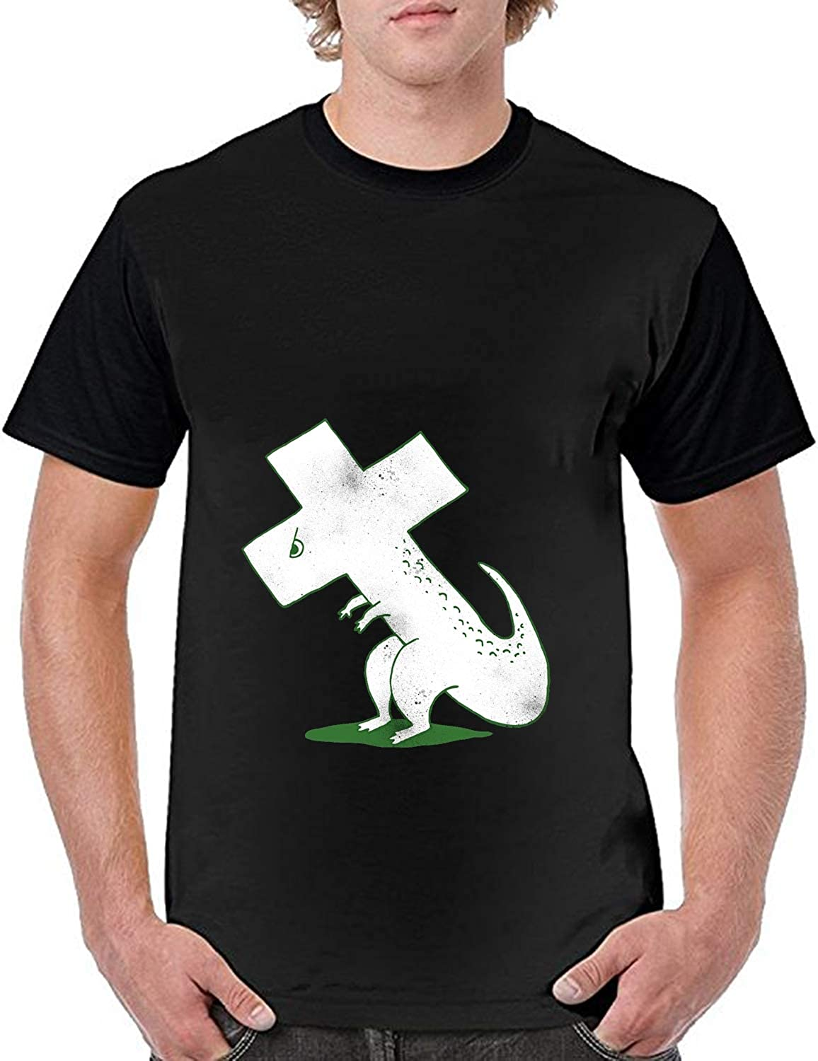 SWEETSTO Mens Causal Ready for Aliens T-Shirt Graphic T Shirts