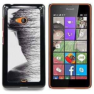 """Planetar ( Pen Líneas Geometría Pájaro Patrón"""" ) Nokia Lumia 540 Fundas Cover Cubre Hard Case Cover"""