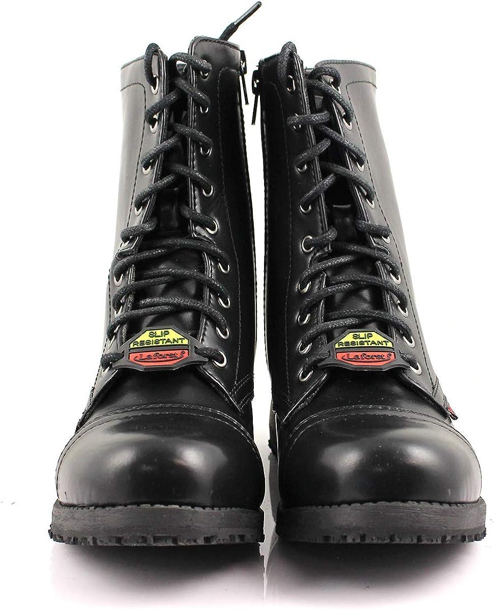 Laforst Womens Jacki 299 Slip Resistant Work Boots Combat Boots
