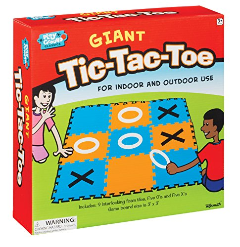 Toysmith 1657 Giant Tic Tac Toe Game