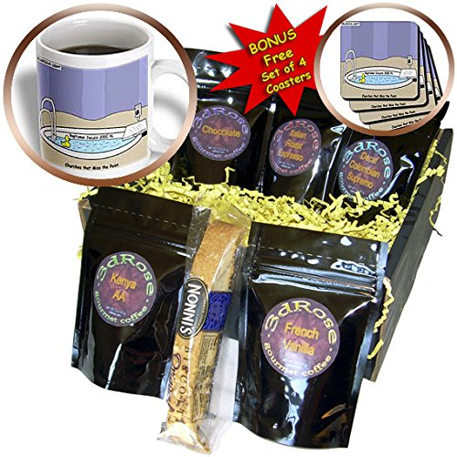 Rich Diesslins Funny Religious Light Cartoons - Jacuzzi Baptistry - Coffee Gift Baskets - Coffee Gift Basket (cgb_2597_1)