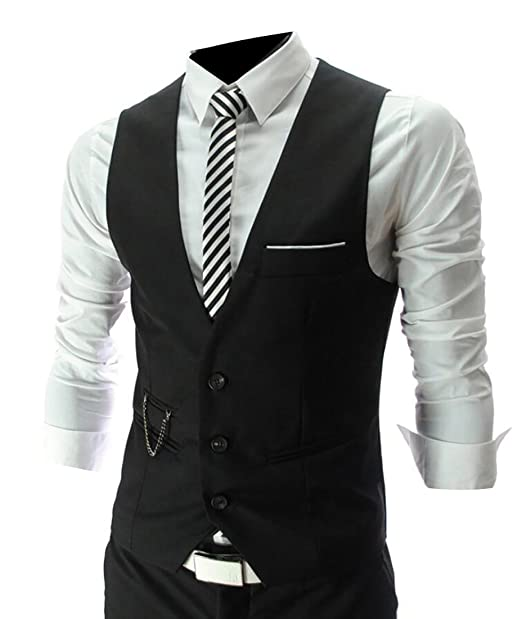Amazon.com: grmo traje vestido Classic Slim Fit Solid para ...