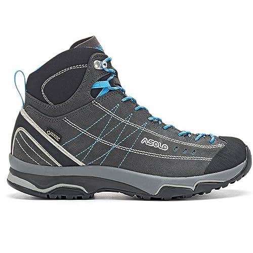 Asolo - Botas de Senderismo Goretex Nucleon Mid GV ML Graphite Mujer: Amazon.es: Zapatos y complementos