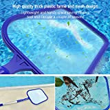 WOLLGORD Pool Skimmer net with Pole, Pool net