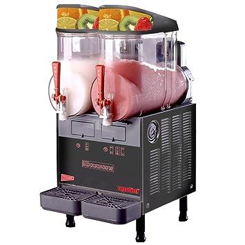 cecilware frigogranita mt2ulafbl negro doble 2,5 gallon Slush máquina - 120 V: Amazon.es: Hogar
