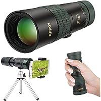 24 x 30 HD Dual Focus Télescope monoculaire, rétractable Portable 8 x -24 x Zoom optique Télescope monoculaire compact Précisément, pour observation des oiseaux