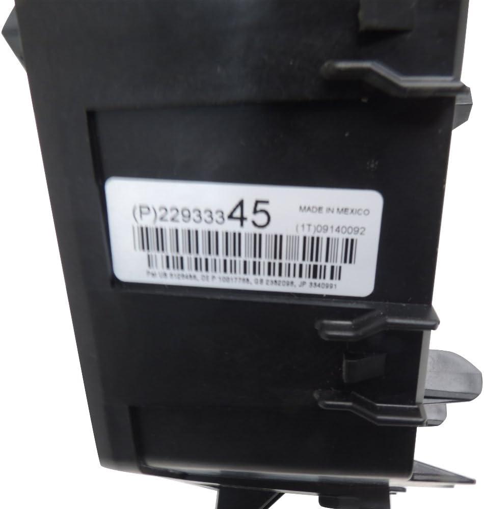 2013-14 GMC Acadia w//HID Headlamps Loaded Fuse /& Relay Box 22933345