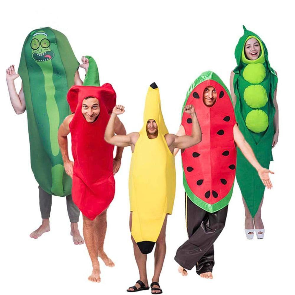 RunJuWuYe Mono Divertido Disfraz de Halloween para Adultos ...